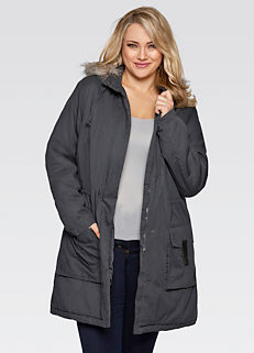 fc120a0501f Cheap Grey Plus Size Coats   Jackets