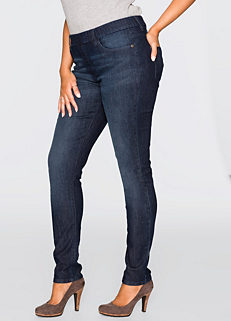 f6ab0d4e983a5 Cheap Plus Size Ladies Jeggings