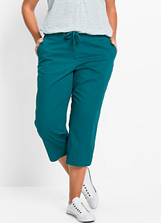 51502e9116bed Cropped Cotton Trousers