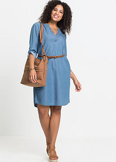 Shop for Denim Dresses | Plus Size | Womens | online at bonprix