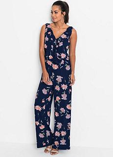 4e026c7b89c4 Floral Jersey Jumpsuit