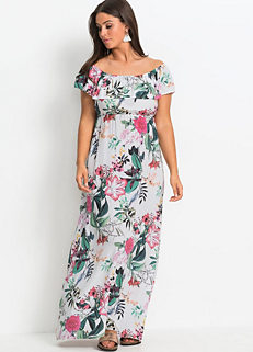 27b895991cf Sizes  Floral Print Maxi Dress