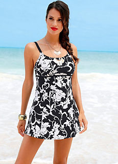 c89eef825089 Shop for Black & White | Swim Dresses | Womens | online at bonprix