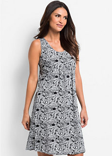 Printed Sleeveless Nightie 1907509f2