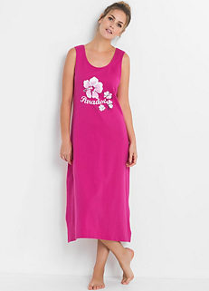 Sleeveless Cotton Nightie 7a7ca9876