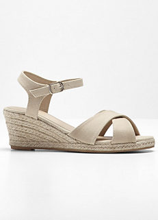 842e37b9de9b Strappy Wedge Sandals. 930440 Strappy Wedge Sandals. bpc bonprix collection