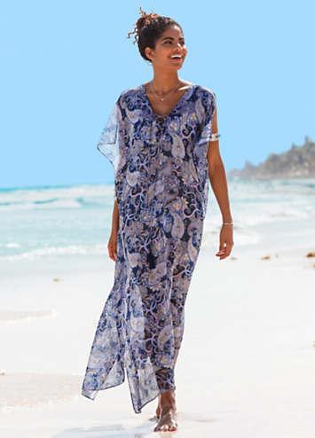 cfd953216b Sheer Beach Maxi Dress by bpc selection | bonprix