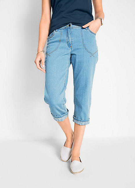 17fe11c21 Cropped Jeans