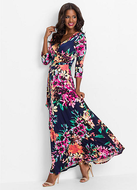 cb018de173 Floral Maxi Dress by BODYFLIRT boutique | bonprix