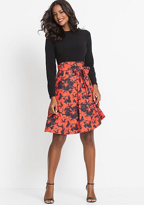 571cec41f38a Floral Skater Dress by BODYFLIRT boutique