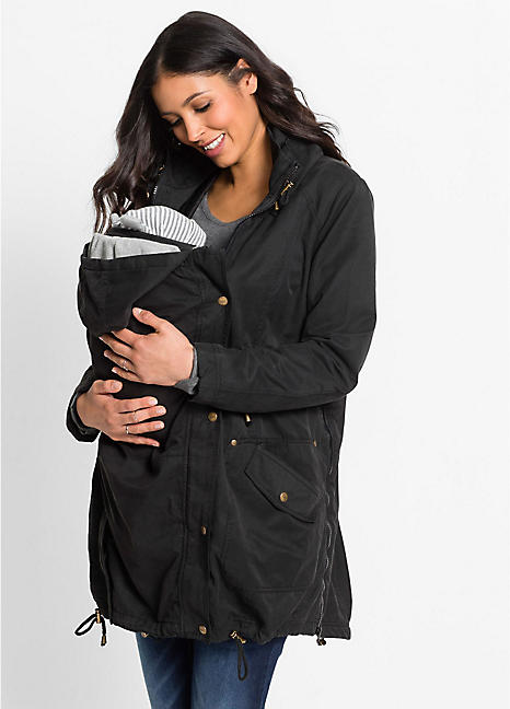 5f5773ad48219 Maternity Parka Jacket by bpc bonprix collection | bonprix