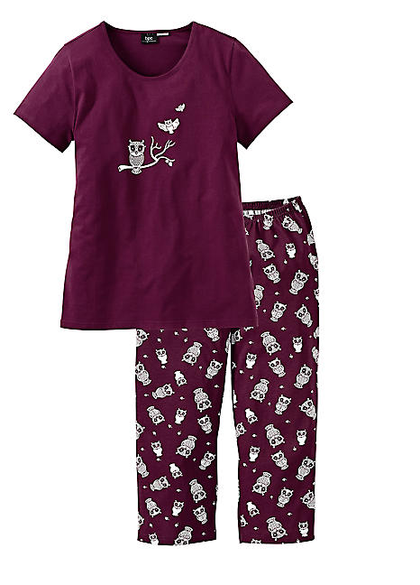 84674016517f Owl Print Pyjamas by bpc bonprix collection