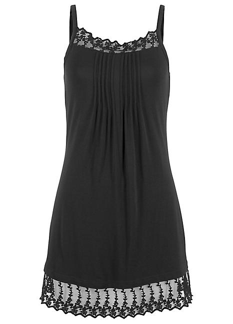 4fd075cdaac Pleated Longline Cami by bpc bonprix collection