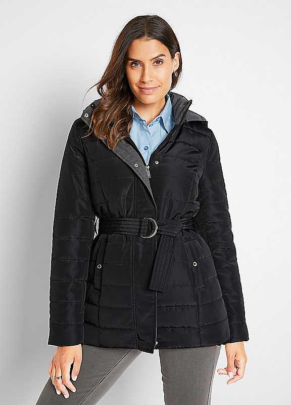 Popper Collar Coat